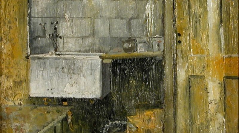 Painting, Scullery Sink by Glynn Porteous