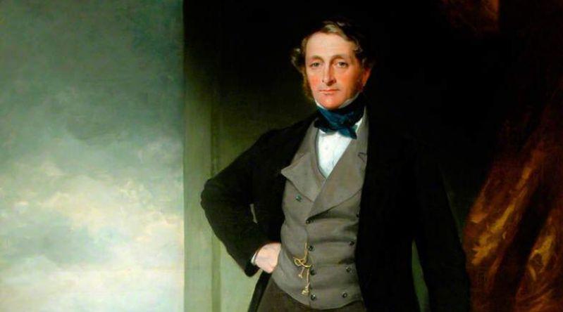 Painting of Ralph Ward Jackson