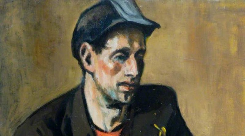Portrait of a Miner from the North East