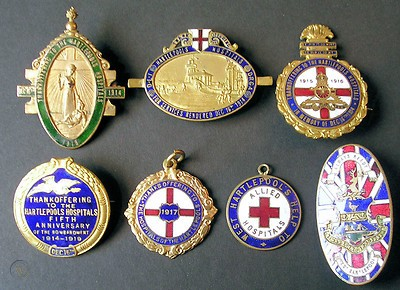 7 enamal hospital badges