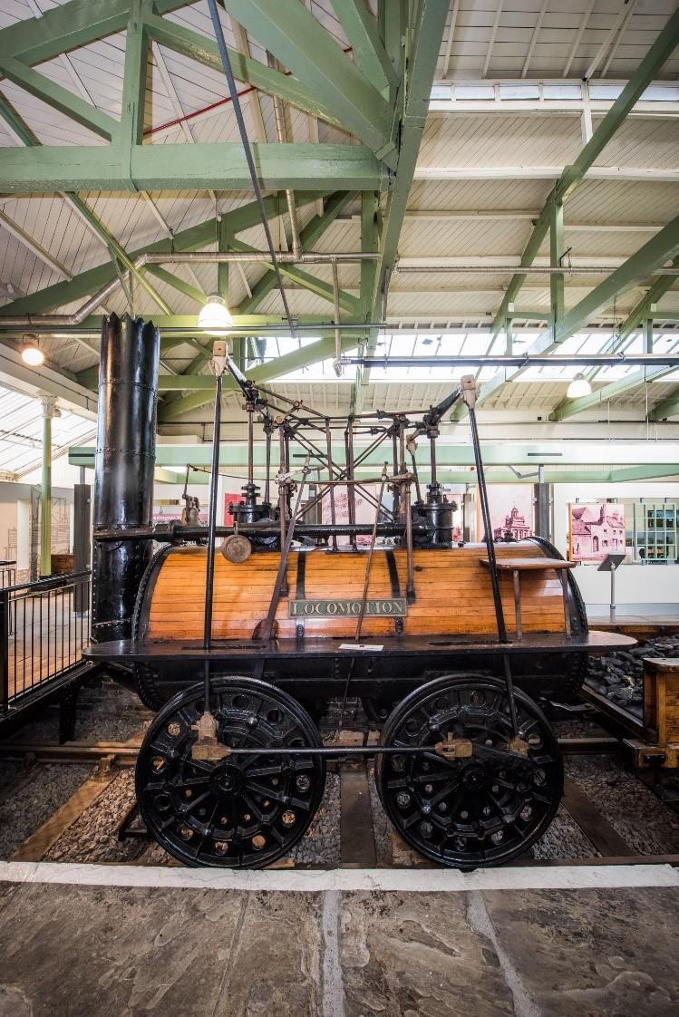 Locomotion No 1 at Head of Steam, Darlington Railway Museum